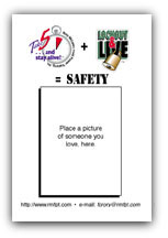 """Take 5™"" pre-work safety checklist- BACK"