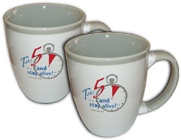 """Take 5™"" coffee mugs"